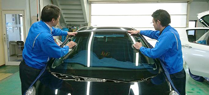 自動車ガラス販売・施工
